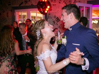 El matrimonio de Marcella y Miguel