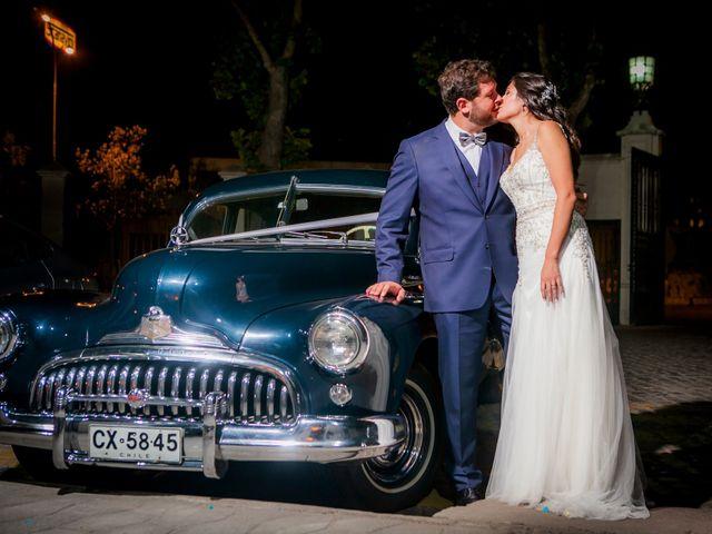 El matrimonio de Camila y Adriano