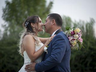 El matrimonio de Victoria  y Luis