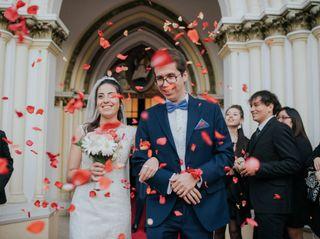 El matrimonio de Evelyn y Roberto
