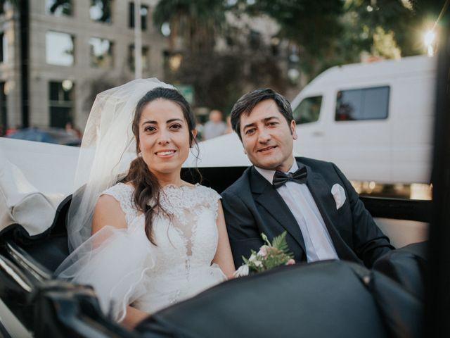 El matrimonio de Roberto y Evelyn en La Reina, Santiago 1