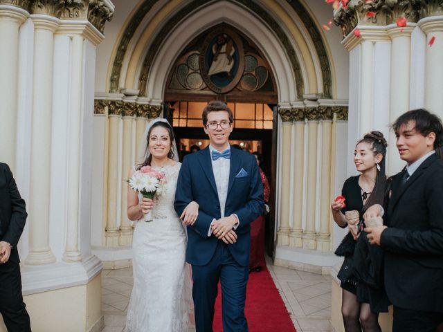 El matrimonio de Roberto y Evelyn en La Reina, Santiago 20