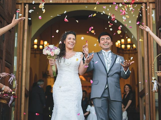 El matrimonio de Loli y Claudio