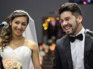 El matrimonio de Nicol y Kevin