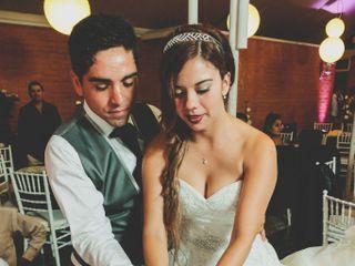 El matrimonio de Judith y Roberto