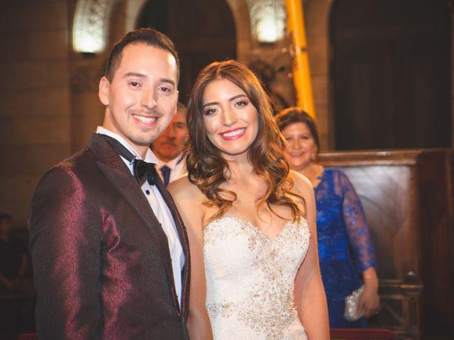 El matrimonio de Francisco Diaz y Carla Cabrera