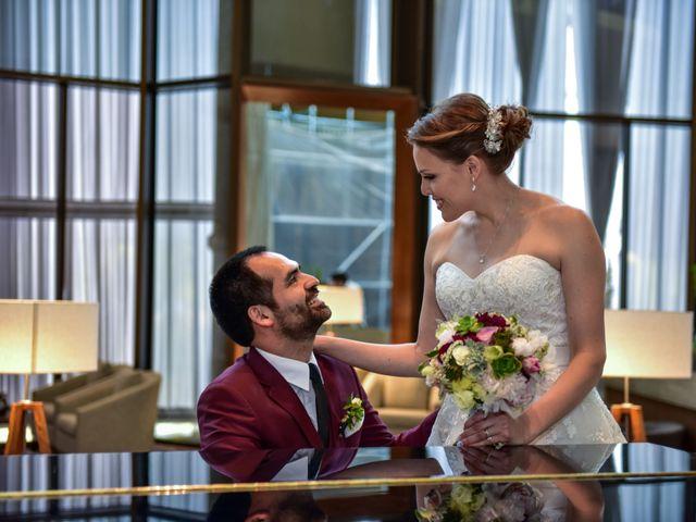 El matrimonio de Daniela y Guillermo