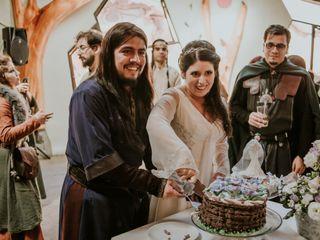 El matrimonio de Vanessa  y Leonardo