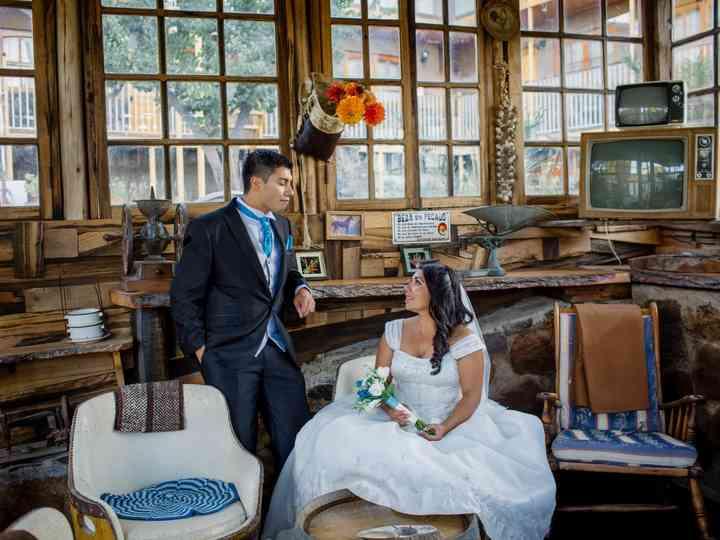 El matrimonio de Anita y Jorge