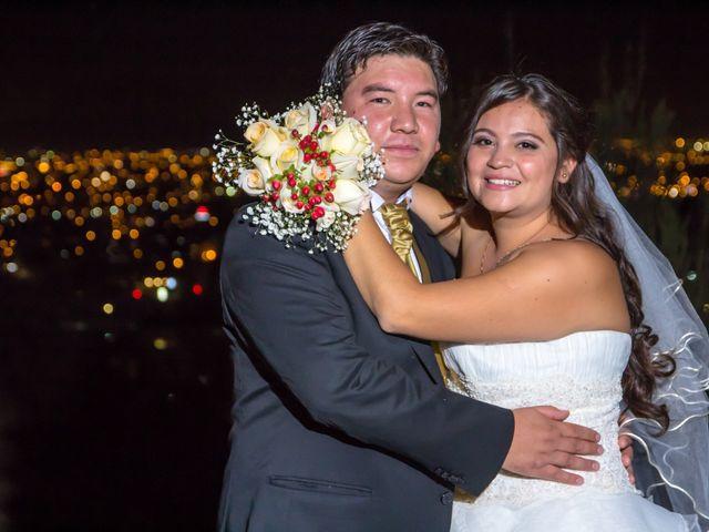 El matrimonio de Danae y Alexis