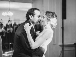 El matrimonio de Erika y Roberto