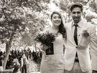 El matrimonio de Elisabeth y Gonzalo