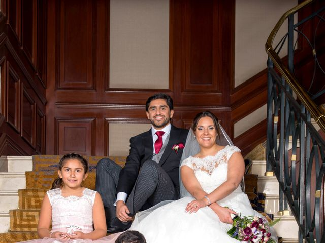 El matrimonio de Álvaro y Ana en Las Condes, Santiago 2