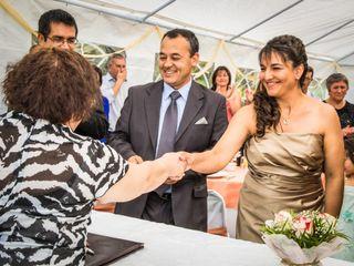 El matrimonio de Lorena y Juan