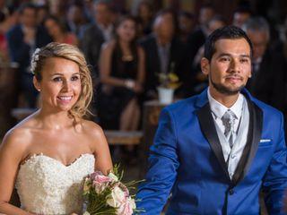 El matrimonio de Vanessa y Pedro