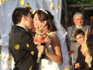 El matrimonio de Casandra y Sebastián  3
