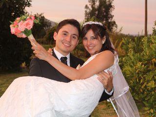 El matrimonio de Casandra y Sebastián