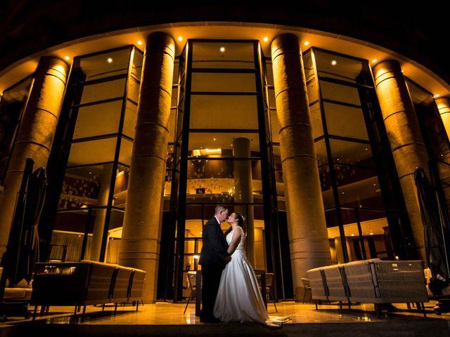 El matrimonio de Monica y Dimitri