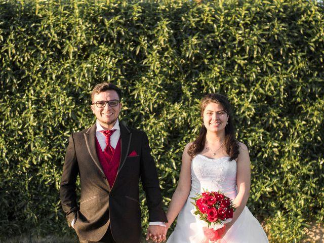 El matrimonio de Damaris y Víctor