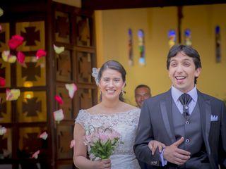 El matrimonio de Claudio y Makarena