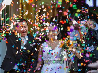 El matrimonio de Natalia y Fabrizio
