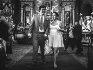 El matrimonio de Maca y Agustín