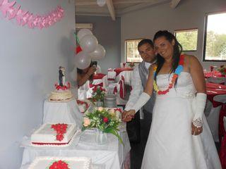 El matrimonio de Juvenal  y Elena