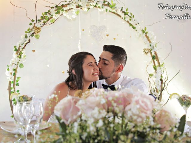El matrimonio de Nathalie  y Luis