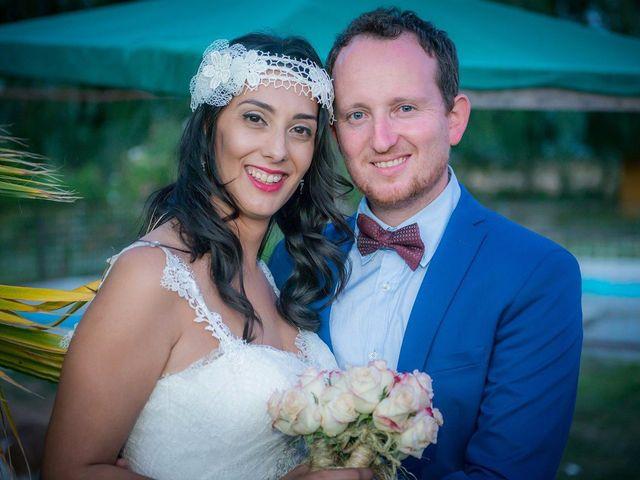 El matrimonio de Sara y Michel