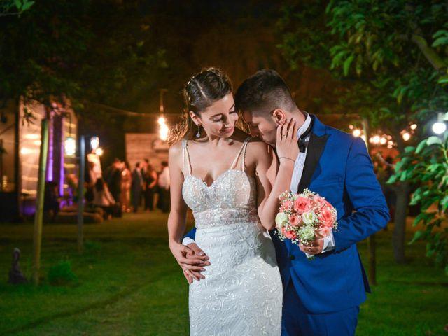 El matrimonio de Mario y Magdalena