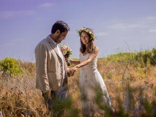El matrimonio de Claudia y Johanan