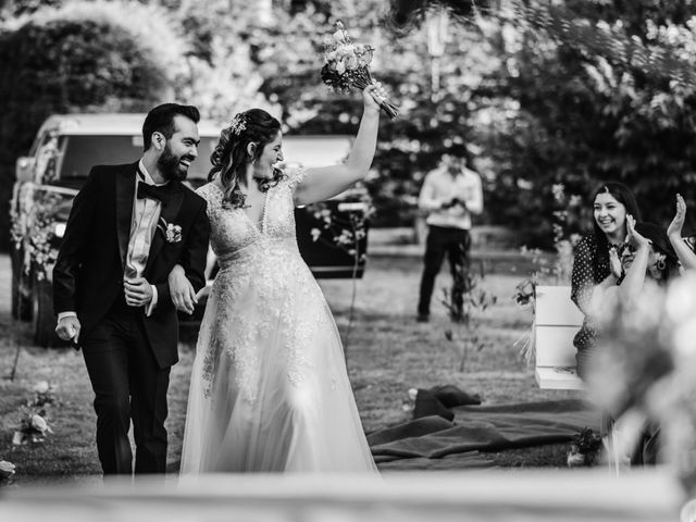 El matrimonio de Gonzalo y Nadia