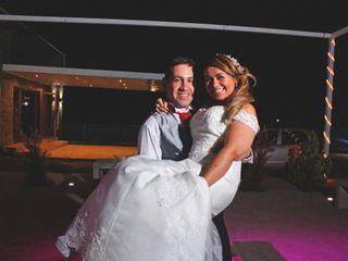 El matrimonio de Evelyn y Fernando