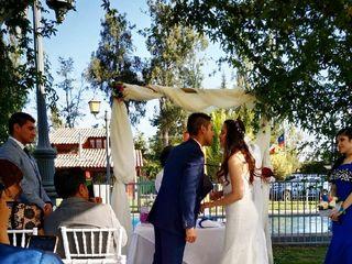 El matrimonio de Ámbar   y Diego  3