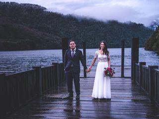 El matrimonio de Jonatan y María Eliana