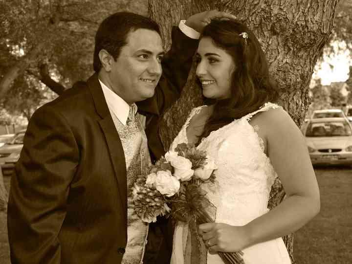 El matrimonio de Carolina y Fernando