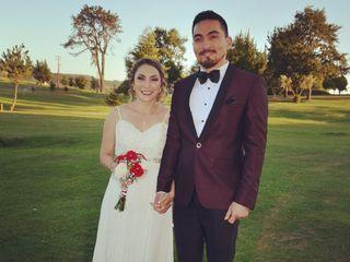 El matrimonio de Abigail y Tomás
