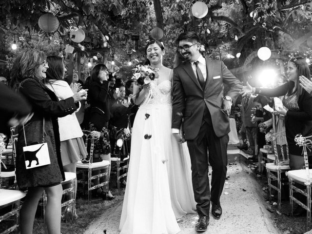 El matrimonio de Bárbara y Joaquin