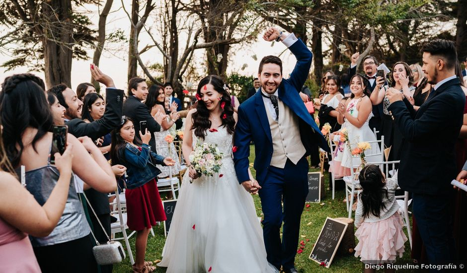 El matrimonio de Diego y Debora en Hualpén, Concepción