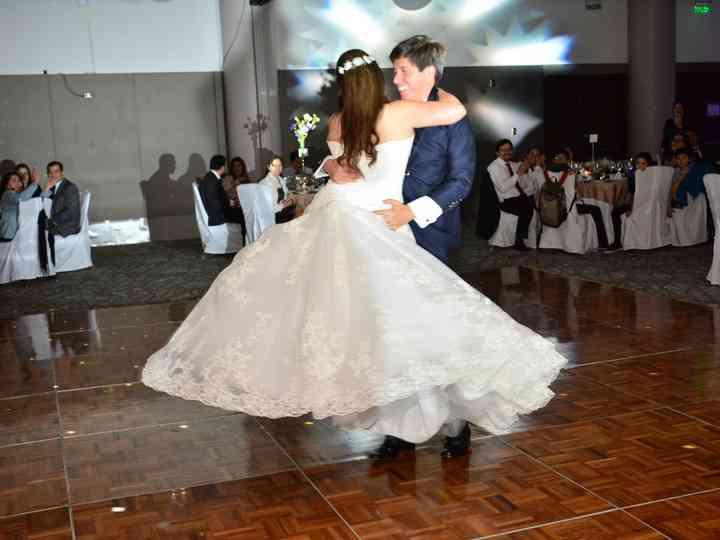 El matrimonio de Natalia y Roberto