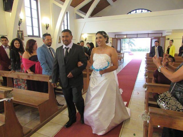 El matrimonio de Elizabeth y Alexis