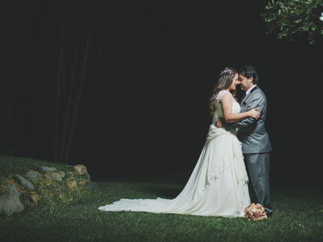 El matrimonio de Romina y Luis