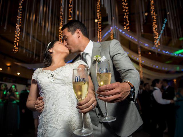 El matrimonio de Mayglin y Carlos