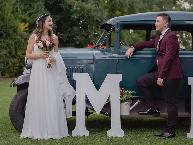 El matrimonio de Felipe y Mónica