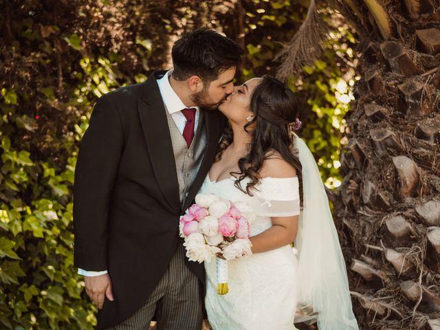 El matrimonio de Nayareth y Javier