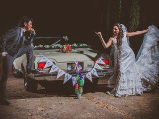 El matrimonio de Bárbara y David