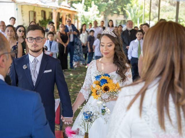 El matrimonio de Josué y Kathia en Curacaví, Melipilla 38