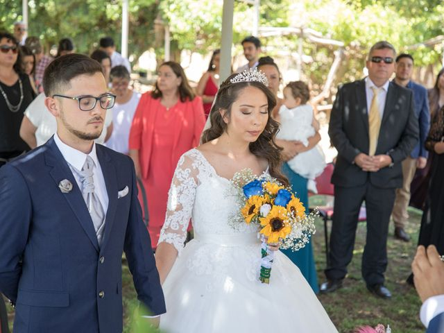 El matrimonio de Josué y Kathia en Curacaví, Melipilla 39