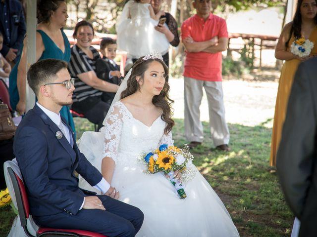 El matrimonio de Josué y Kathia en Curacaví, Melipilla 41