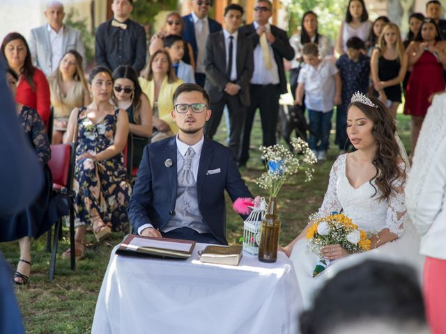 El matrimonio de Josué y Kathia en Curacaví, Melipilla 43